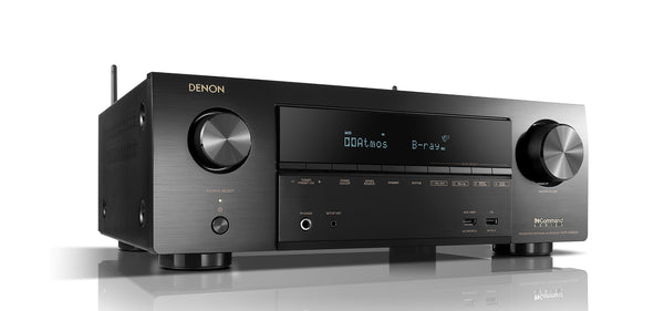 Denon AVR-X1600H 7.2ch 4K Ultra HD AV Receiver with 3D Audio and HEOS Built-in Jamsticks - Jamsticks