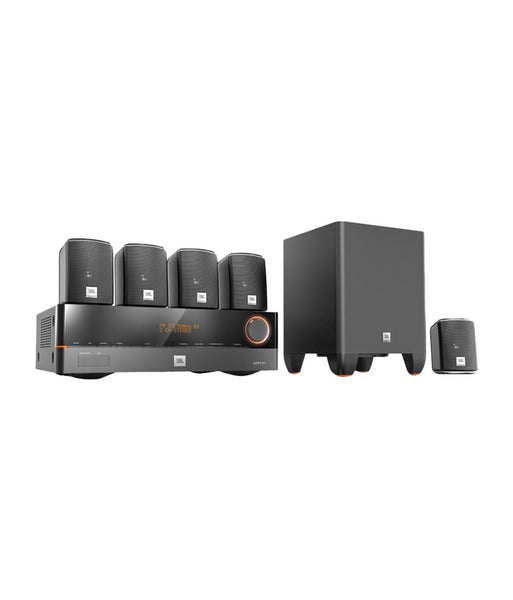 JBL Cinesystem 500SI 5.1 Home Theatre System with AVR 101 - Jamsticks