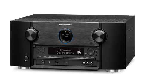 Marantz AV 7703 11.2 Channel 4K Ultra HD A/V Pre-Amplifier with Bluetooth and Wi-Fi