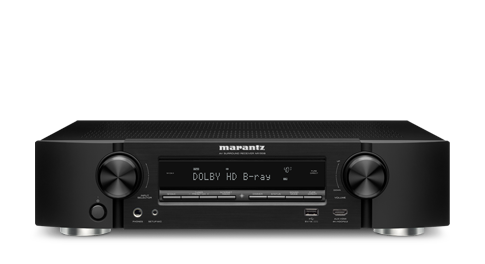 Marantz NR1508 5.2 Channel 4K Ultra HD Network AV Receiver with HEOS