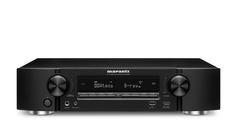 Marantz NR1608 Ultra-Slim 7.2 Channel 4K Ultra HD  Network AV Receiver with HEOS