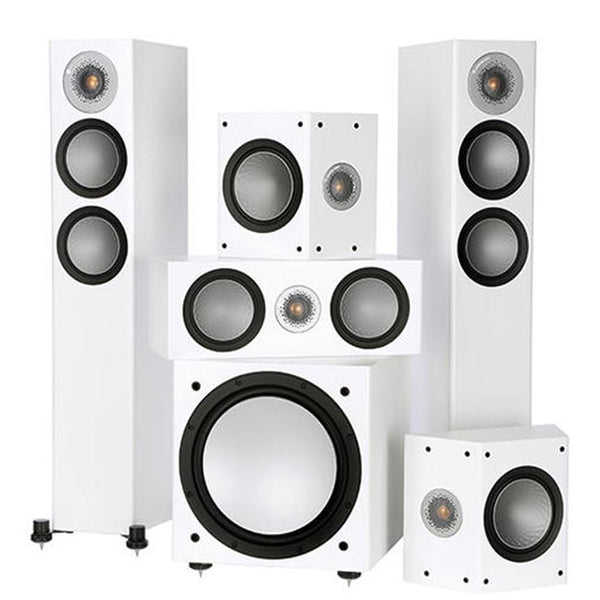Monitor Audio Silver AV12 5.1 Speaker - Jamsticks