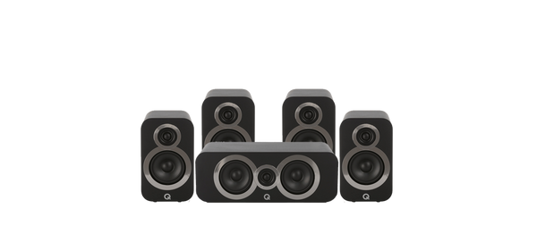 Q Acoustics 3010i Compact Bookshelf 5.0 ch Speakers package - Jamsticks