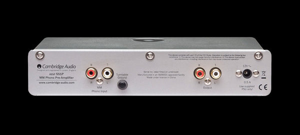 Cambridge Audio Azur 551P Moving Magnet Phono Preamplifier - Pre-Amplifier - Jamsticks