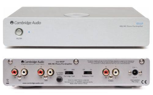 Cambridge Audio Azur651P AV Preamplifier - AV Preamplifier - Jamsticks