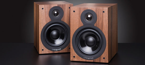 Cambridge Audio SX-50 Bookshelf Speakers (Pair) - Jamsticks