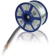 Valueline VLSR40901R100 COAX 12 7.0 mm 100 m  Coax Cable On Reel - Jamsticks