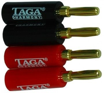 Taga Harmony TCB-001 Banana Plugs - Connectors - Jamsticks