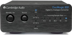Cambridge Audio DacMagic 100 Digital to Analogue Converter - Jamsticks