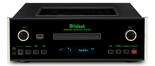 McIntosh MCD 600 SACD/CD Player - Jamsticks