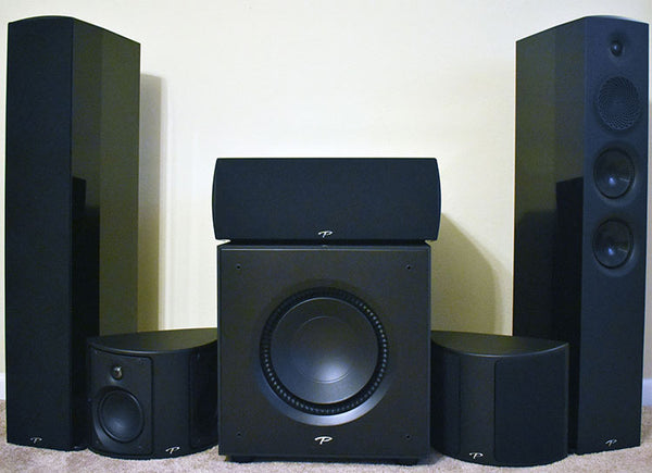 Paradigm Premier Series 5.1 Ch Speaker Package with X12 Subwoofer - Jamsticks
