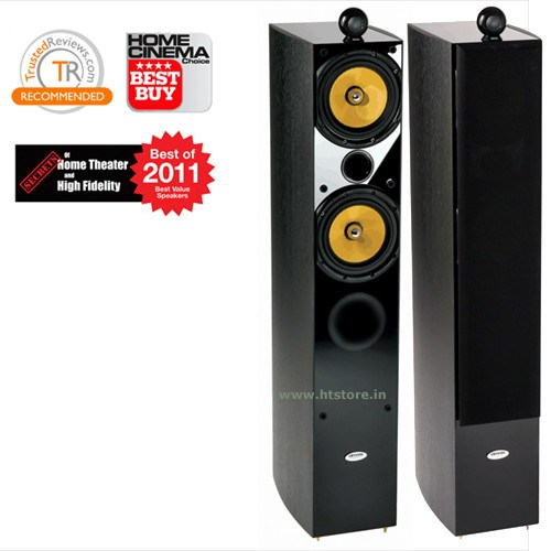 Crystal Acoustics TX-T2SE-BL Floor Standing Speakers (Pair) - Floorstanding Speaker - Jamsticks
