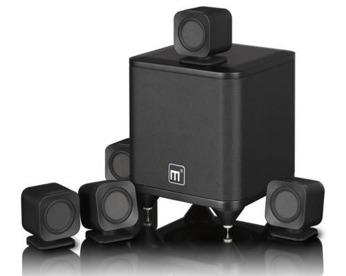 Mission M³-Cube 5.1 Ch Speaker Package - Home Theater System - Jamsticks