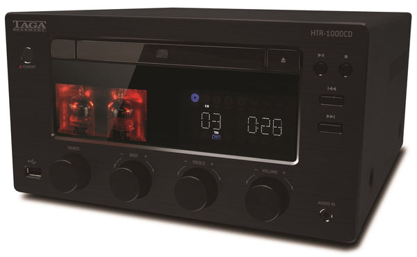 TAGA Harmony HTR-1000CD Hybrid Stereo CD-Receiver Bluetooth® DAB+ FM - Cd Receiver - Jamsticks