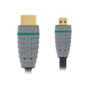 Bandridge BVL-1802 HDMI HSCable Rotatable - 2 mtr - HDMI Cable's - Jamsticks
