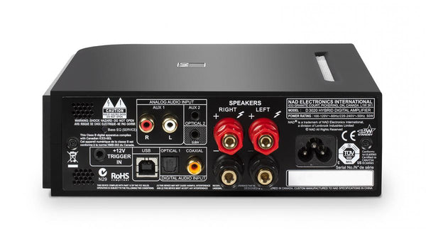 NAD D 3020 Integrated Stereo Amplifier - Jamsticks