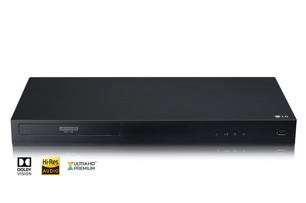 LG UBK90 4K Ultra-HD Blu-Ray Player with Dolby Vision - Jamsticks