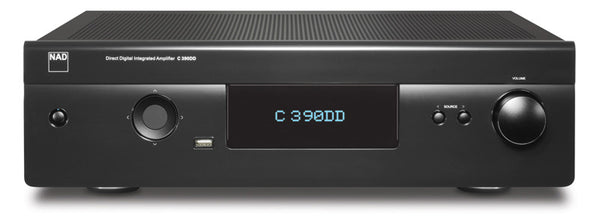 NAD C 390DD Direct Digital Powered DAC Amplifier - DAC/Amplifier - Jamsticks