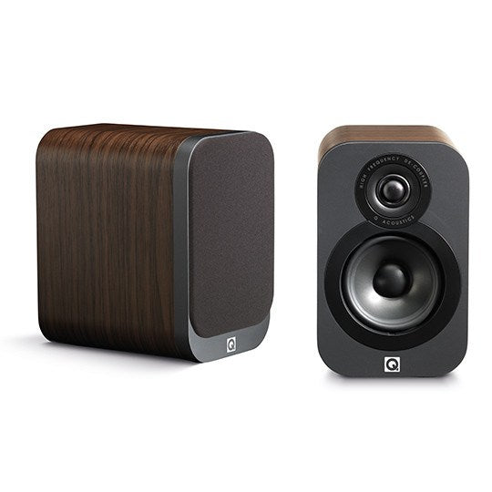 Q Acoustics 3010 Compact Bookshelf / Standmount Speaker ( Pair) - Bookshelf Speakers - Jamsticks