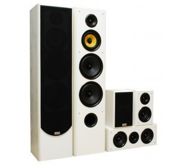 Taga Harmony TAV-606 V.3 5.0 Ch Speaker Package - 5.0 Ch Speakers - Jamsticks