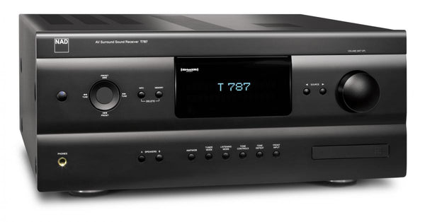 NAD T 787 AUDIO VIDEO SURROUND SOUND RECEIVER - Jamsticks