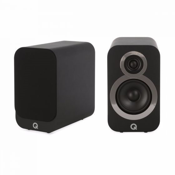 Q Acoustics 3010i Compact Bookshelf Speakers - Jamsticks
