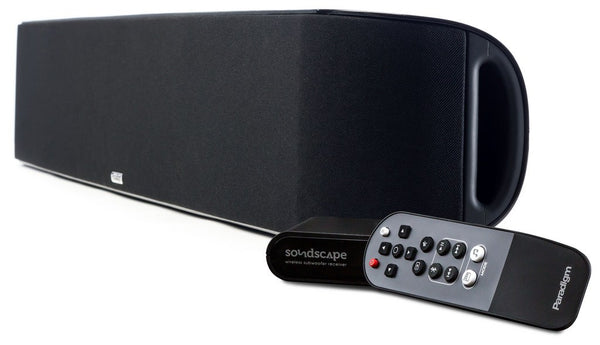 Paradigm SoundScape Virtual Surround SoundBar with BT aptx - Wireless Sound Bar - Jamsticks
