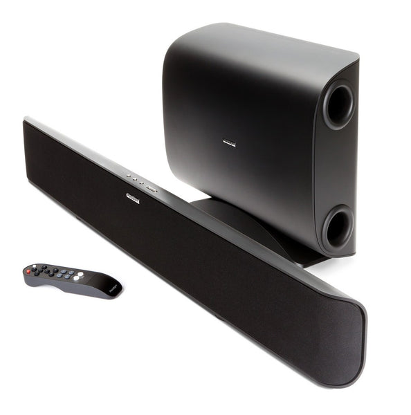 Paradigm SoundTrack 2 System 2.1 SoundBar with BlueTooth & Wireless Sub - Wireless Sound Bar - Jamsticks