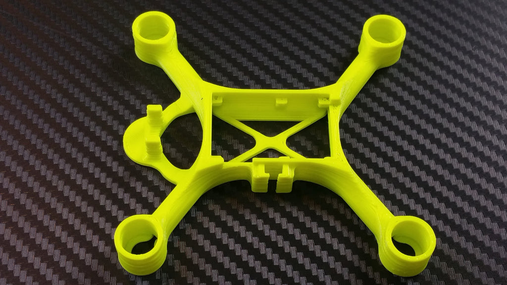NB98 printed with Colorfabb pla/pha in fluorescent green