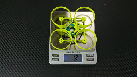 Mighty Whoop frame weight