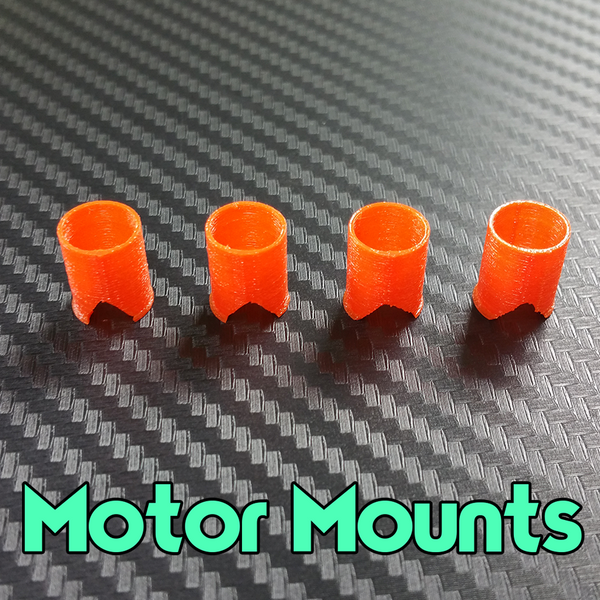 Micro Brushed Motor Mounts