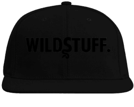 "WILDSTUFF ""Black"" SnapBack"
