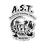 Alligator Snapping Turtle Decal