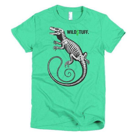 Croc Monitor Skeleton Women's Tank