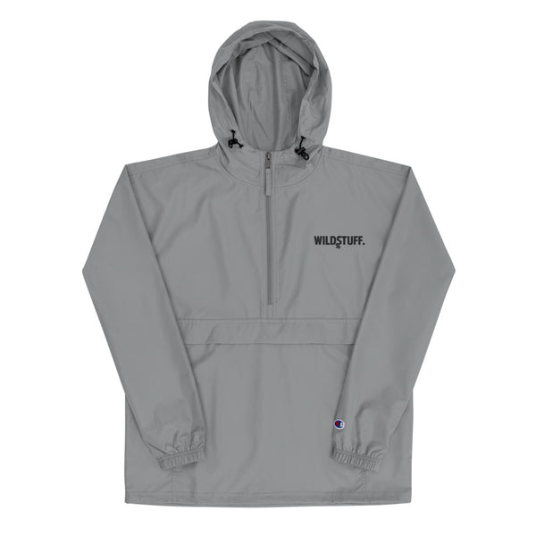 WildStuff Black Logo Packable Jacket