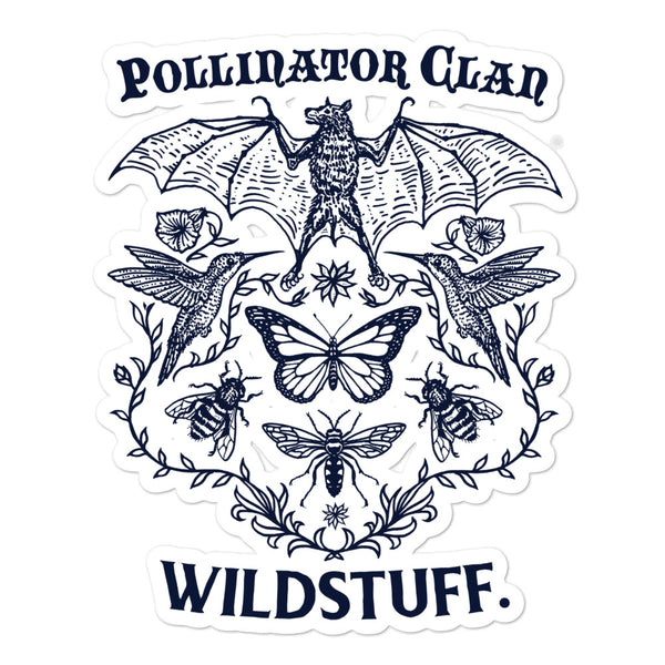 Pollinator Clan Decal