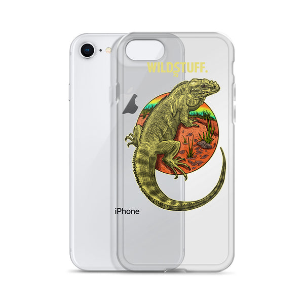 Rhino Iguana iPhone Case