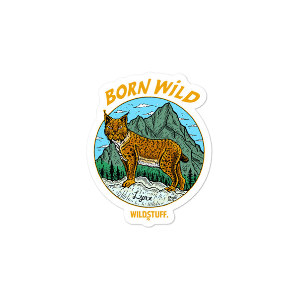 Born Wild Sticker