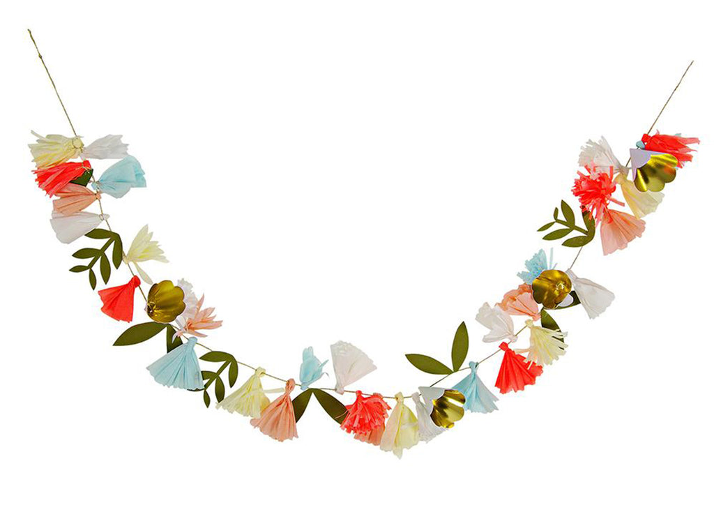 Merimeri Party -  Flower Bouquet Garland