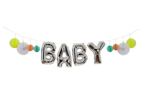 Merimeri Party - Baby Balloon Garland Kit