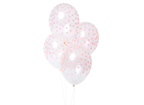 Merimeri Party - Coral Star Balloons