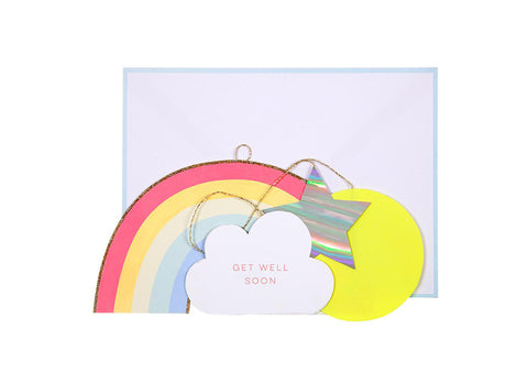 Merimeri Party - Get Well Soon Mobile Card