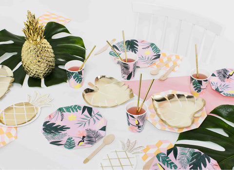Merimeri Party - Pineapple Plates