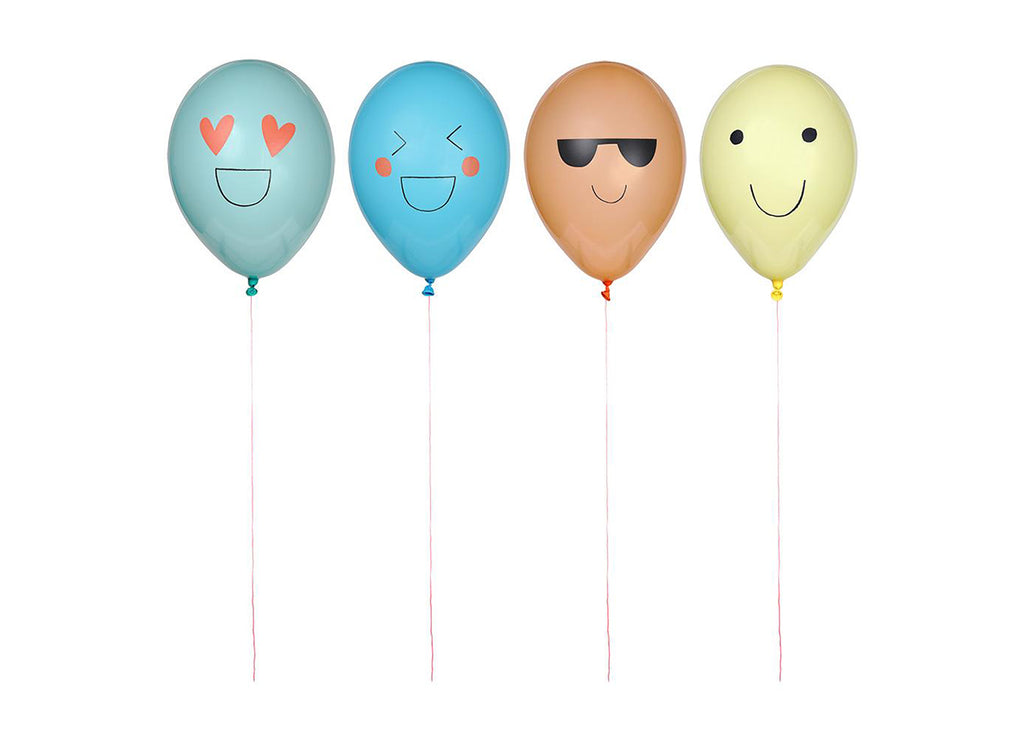 Merimeri Party - Emoji Balloons