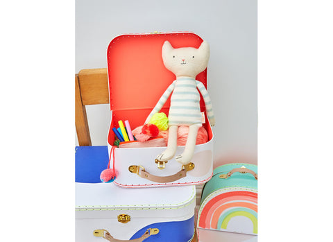 Merimeri Party - Rainbow Suitcase Buyuk Boy