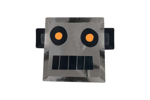 Merimeri Party Robot Plates