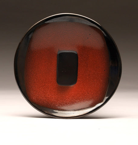 "DH020 11"" Black and Red ""Portal"" Platter"