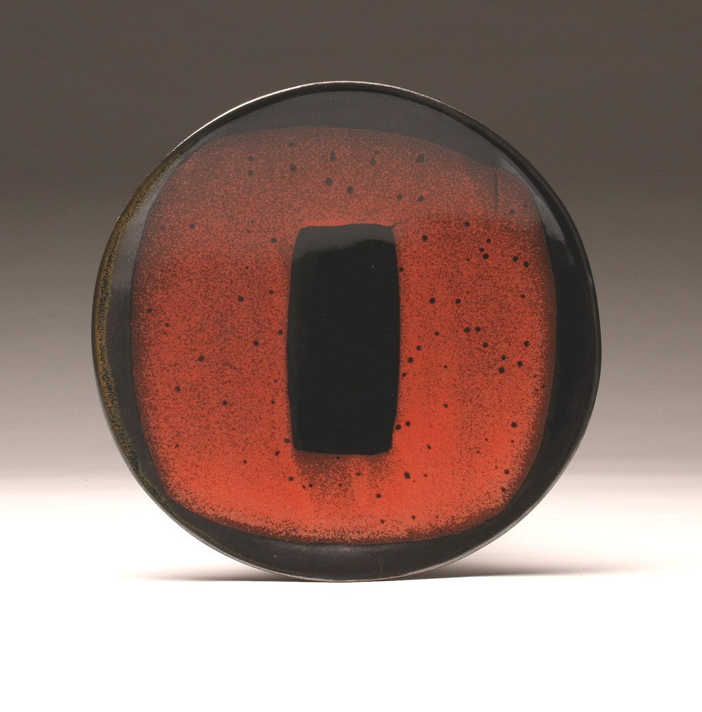 "DH022 11"" Black and Red ""Portal"" Platter"