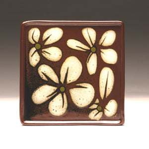 DH 0042 Square Flower Plate