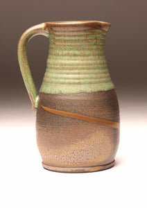 GH019 Woodfired Pitcher with Green Top